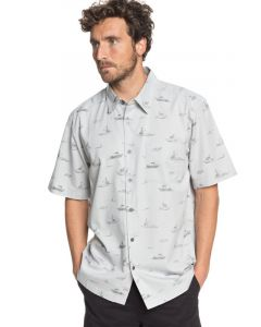 Quiksilver Men's Waterman Channel Cruising Technical Short Sleeve Shirt