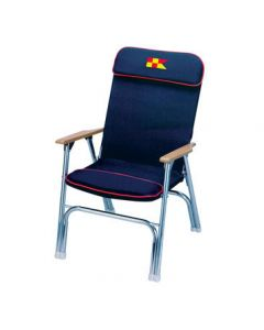 Garelick Eez-In Designer Series Padded Deck Chair - Anodized Aluminum