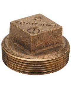 Bronze Square Head Plug Fittings (Brass Fittings)