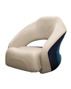 Wise Premier Pontoon Bucket Seat with Flip-up Bolster