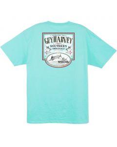 Guy Harvey  Men's Sweet Caramel Short Sleeve T-Shirt