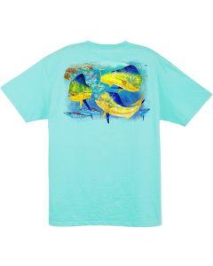 Guy Harvey Men's Bunch of Bulls T-Shirt