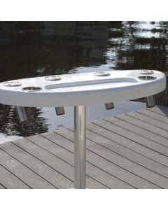 Rough Water Products Rocket Launcher with Rigging Tray - White