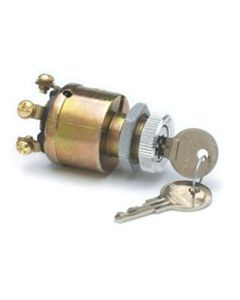 Cole Hersee 4 Position Ignition Switch, Die Cast