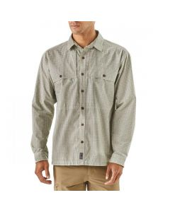 Patagonia Men's Long Sleeve Island Hopper II Shirt Double Haul