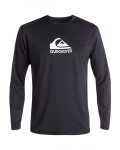 Quiksilver Men's Solid Streak Short Sleeve UPF 50 Rash Guard