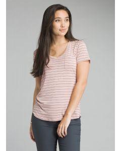 Prana Women's Foundation Short Sleeve V-neck Top
