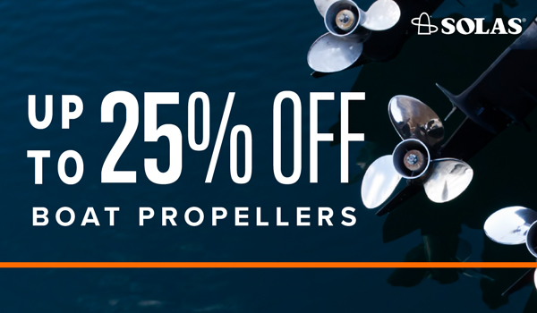 Up to 25% Off Boat Propellers