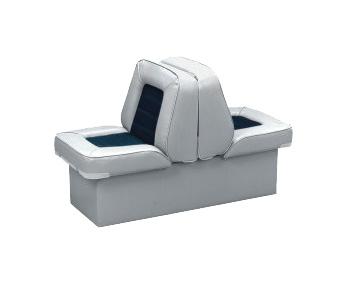 back-to-back lounge boat seats