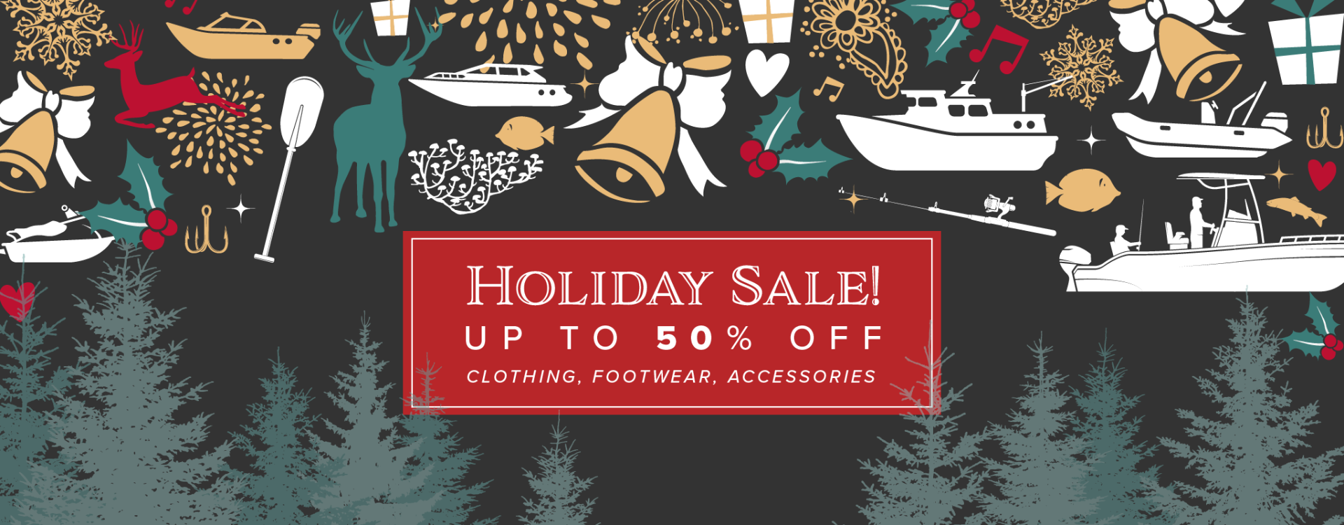 Holiday Clothing and Footwear Sale