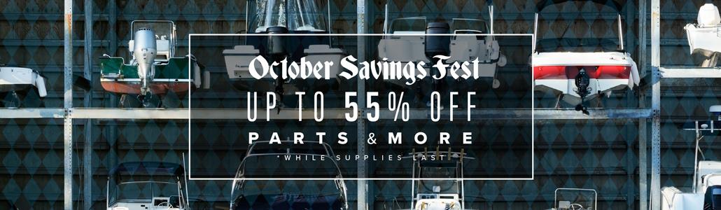 October Savings Fest