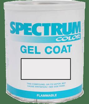 Bucket of gel coat