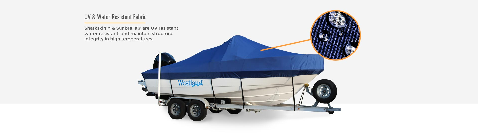 Westland boat cover fabric