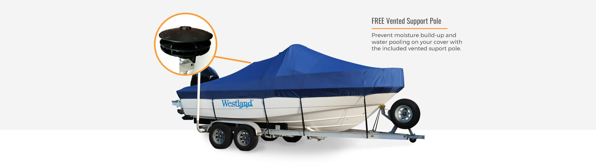 Westland boat cover pole