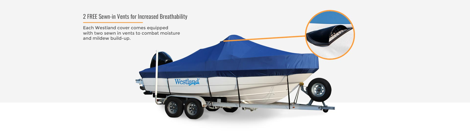 Westland boat cover vents